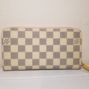 Louis Vuitton Damien Azur Leather Wallet